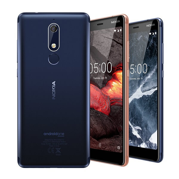 Nokia Unveils new Android handsets