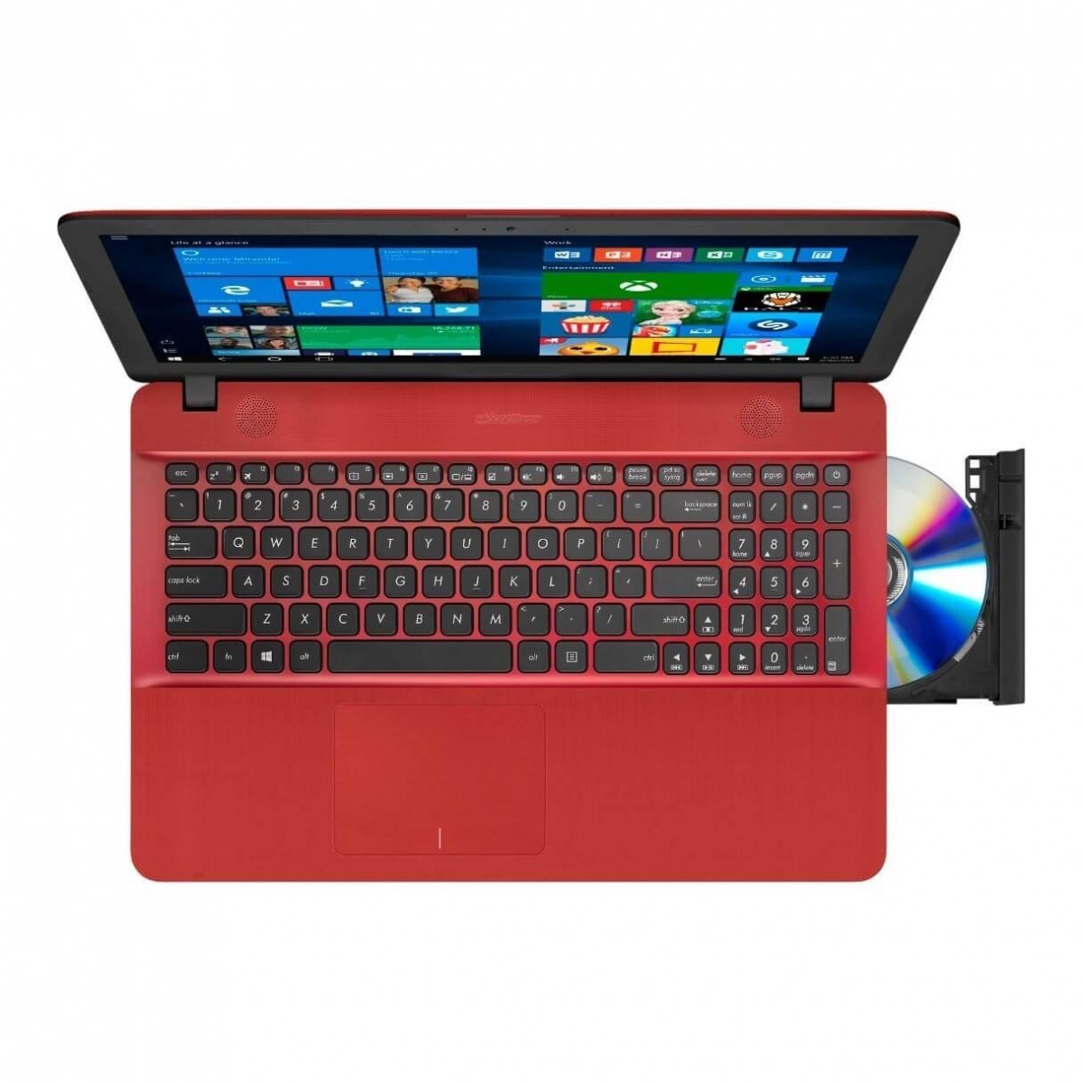 Asus Vivobook Max X541NA-GQ080T - Red