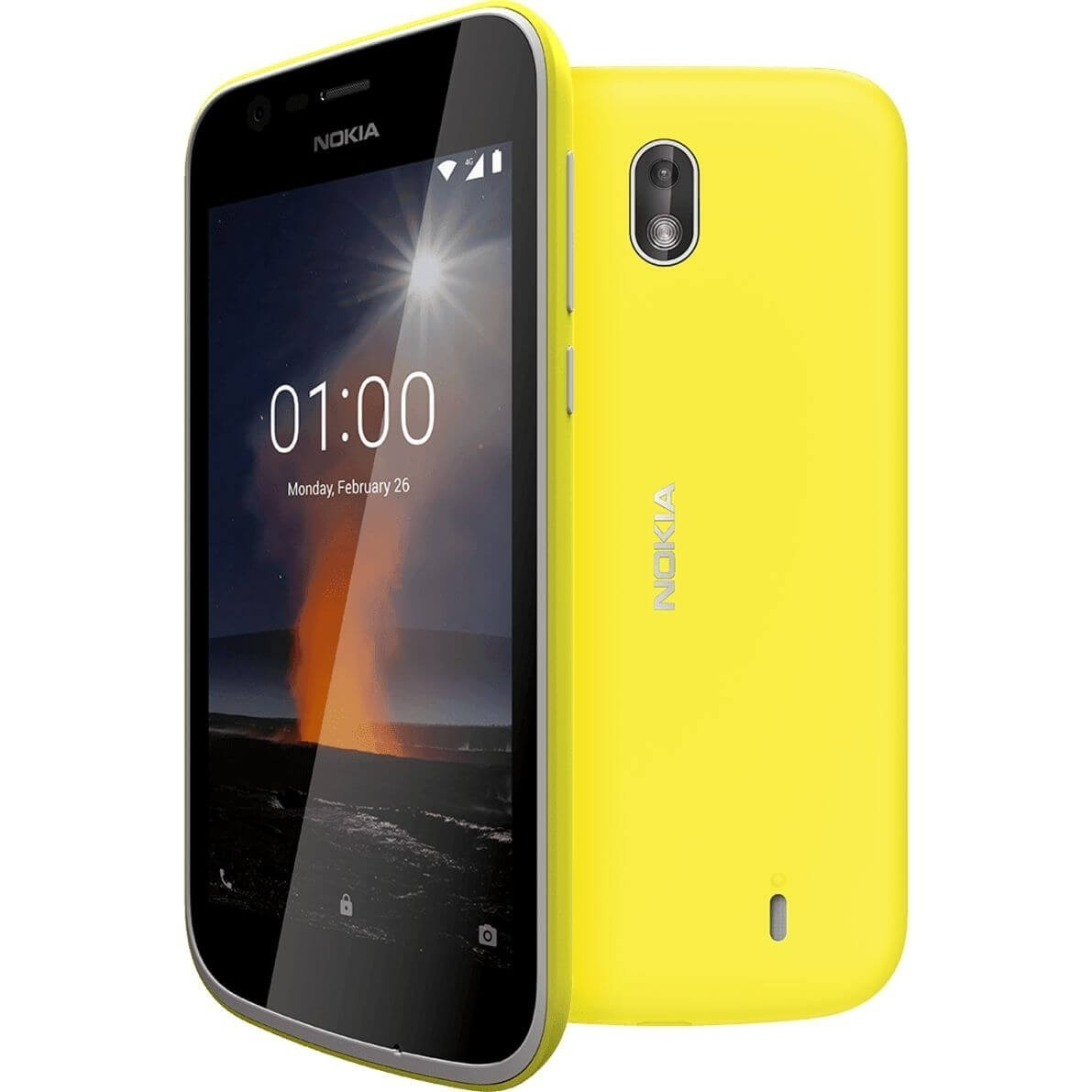 newest aff6c 610d1 Nokia 1 Xpress-on Cover Dual Pack - Pink & Yellow