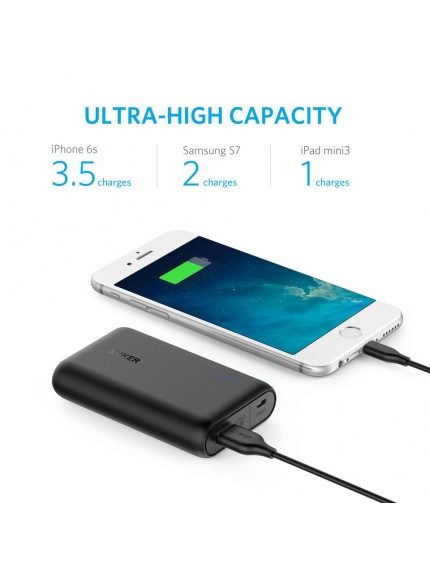 Anker PowerCore Speed 10000 with Quick Charge 3.0 UN - Black