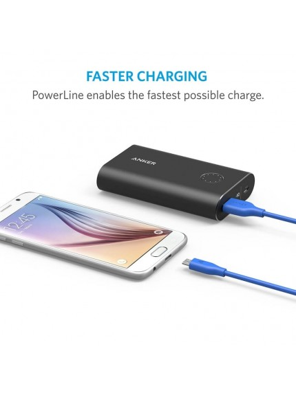 Anker PowerLine Micro USB Cable 3ft. - Blue