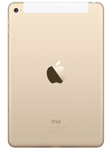 Apple iPad mini 4 Wi-Fi + Cellular 64GB - Gold