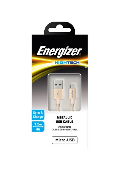 Energizer HighTech Metallic USB Cable - C13UBMCGGD4