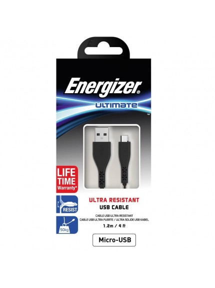 Energizer Ultimate Ultra Resistant USB Type-C Cable - C41UBMCGBK4