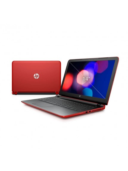 HP Pavilion 14-AB122TX - Red