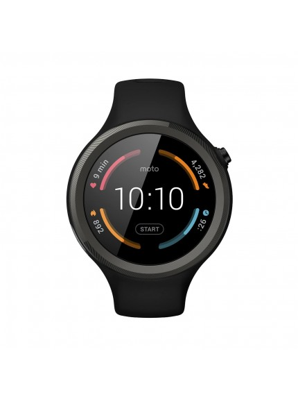 Moto 360 Sport - 45mm - Black