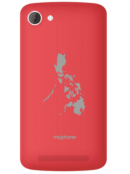 MyPhone My81 DTV - Red
