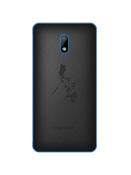 MyPhone My75 DTV - Black/Blue