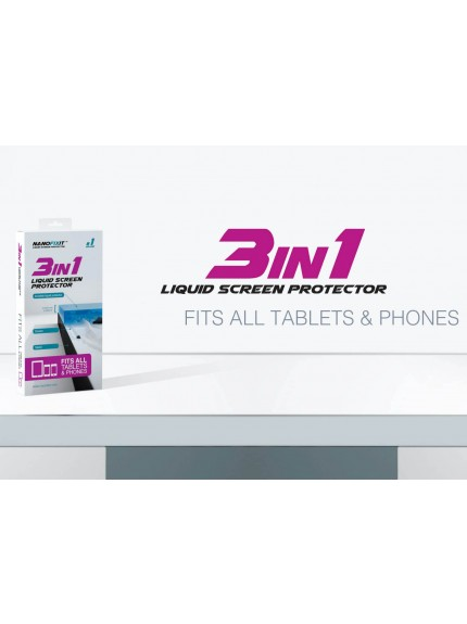 Nanofixit 3-in-ONE - liquid screen protector (Tablets and/or Smartphones)