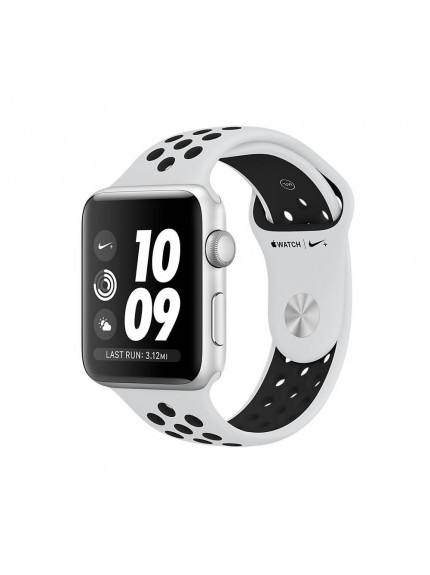 Apple Watch Nike+ GPS 38mm Silver Aluminium Case with Pure Platinum/Black Nike Sport Band