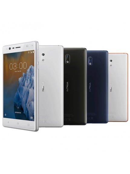 Nokia 3 - Tempered Blue