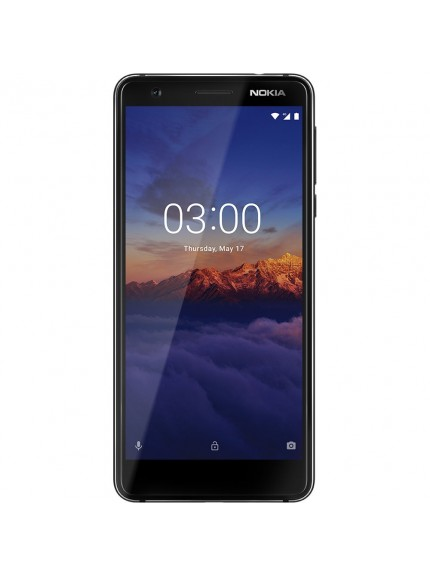Nokia 3.1 - Black/Chrome
