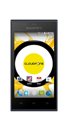 Cloudfone GEO 400 LTE+ - Blue