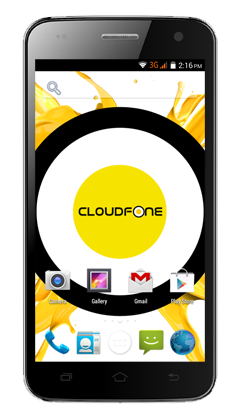 Cloudfone EXCITE 501o - Blue