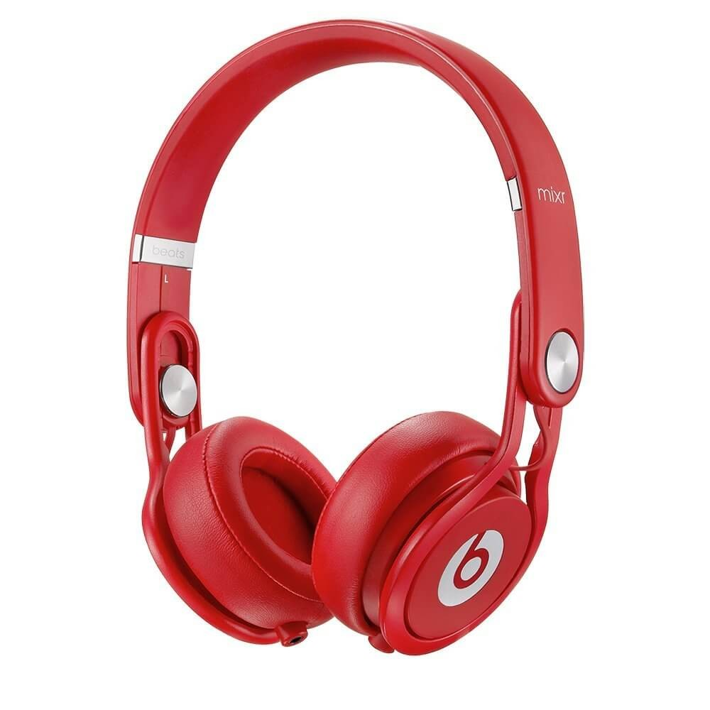 Apple Beats by Dr. Dre MIXR On-Ear Headphones - Red