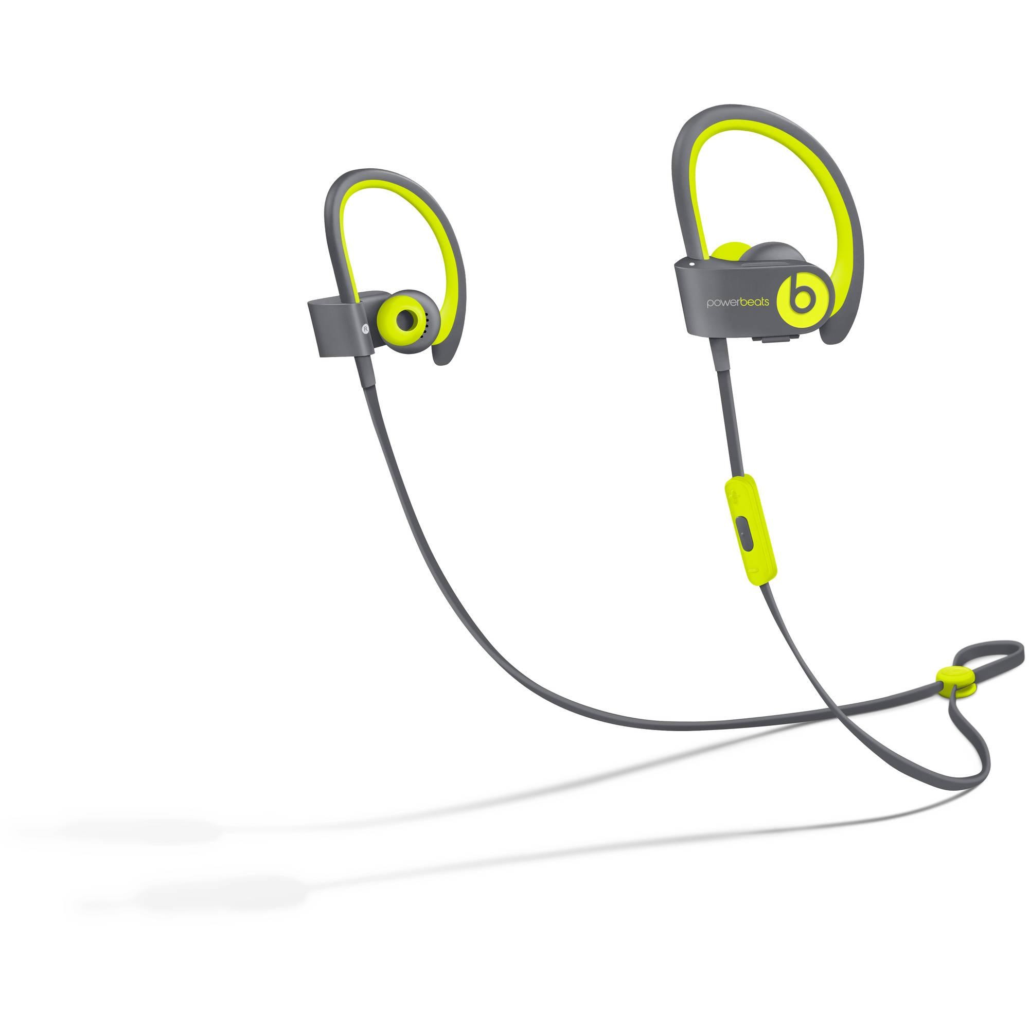 Apple Beats by Dr. Dre Powerbeats 2 Wireless In-Ear Headphones, Active Collection - Shock Yellow