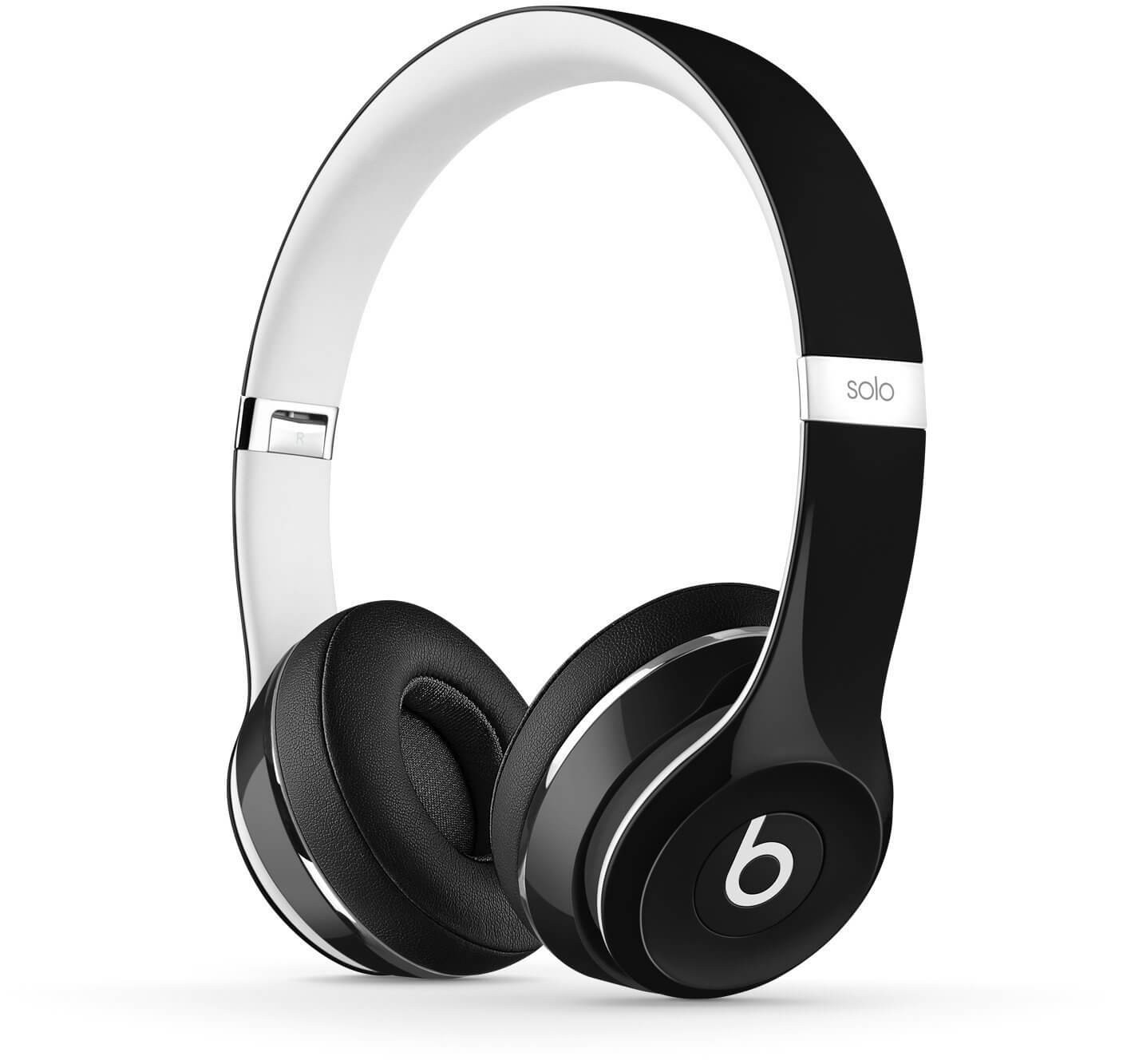 Apple Beats by Dr. Dre Solo2 On-Ear Headphones - Luxe Edition, Black