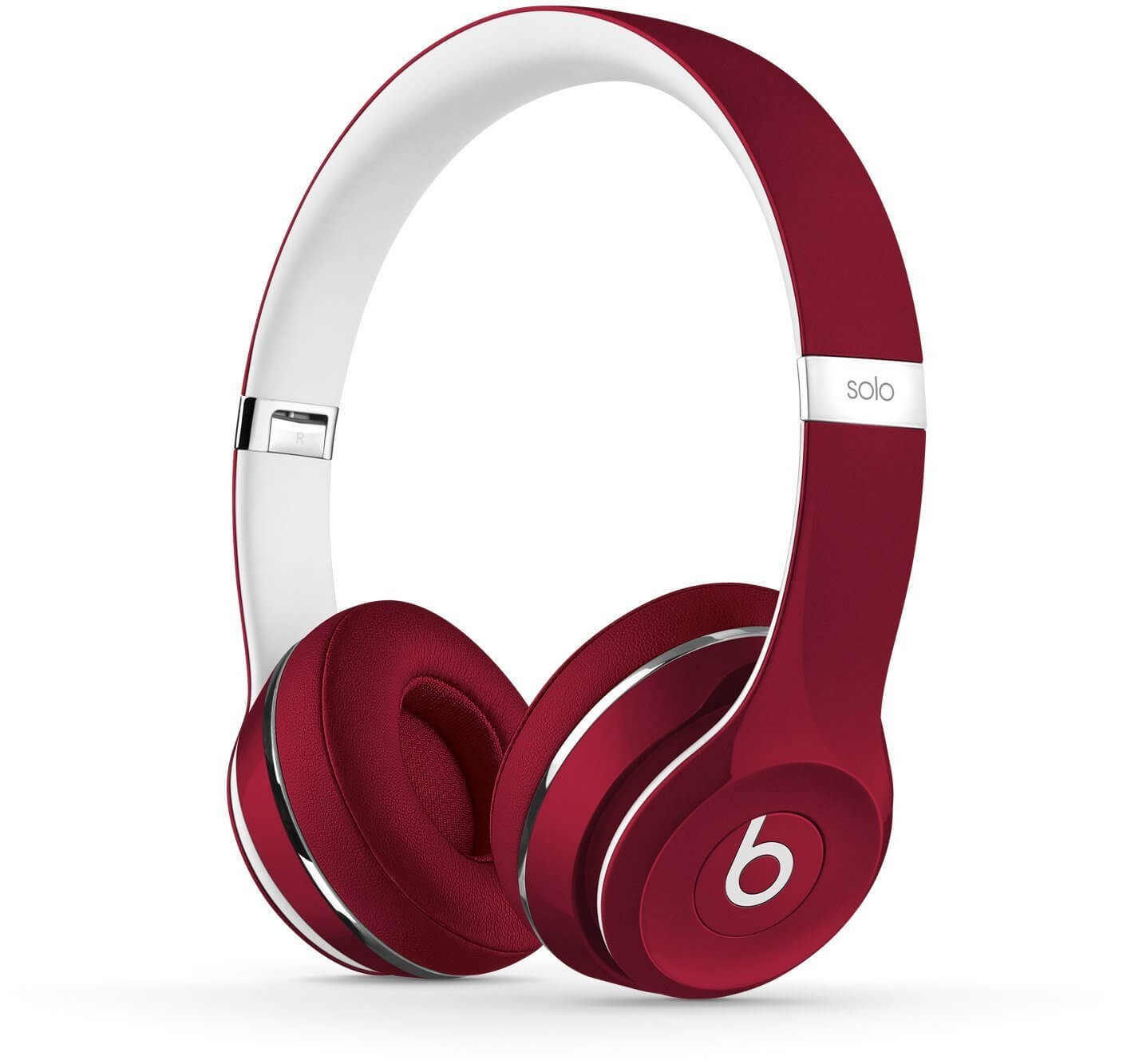 Apple Beats by Dr. Dre Solo2 On-Ear Headphones - Luxe Edition, Red