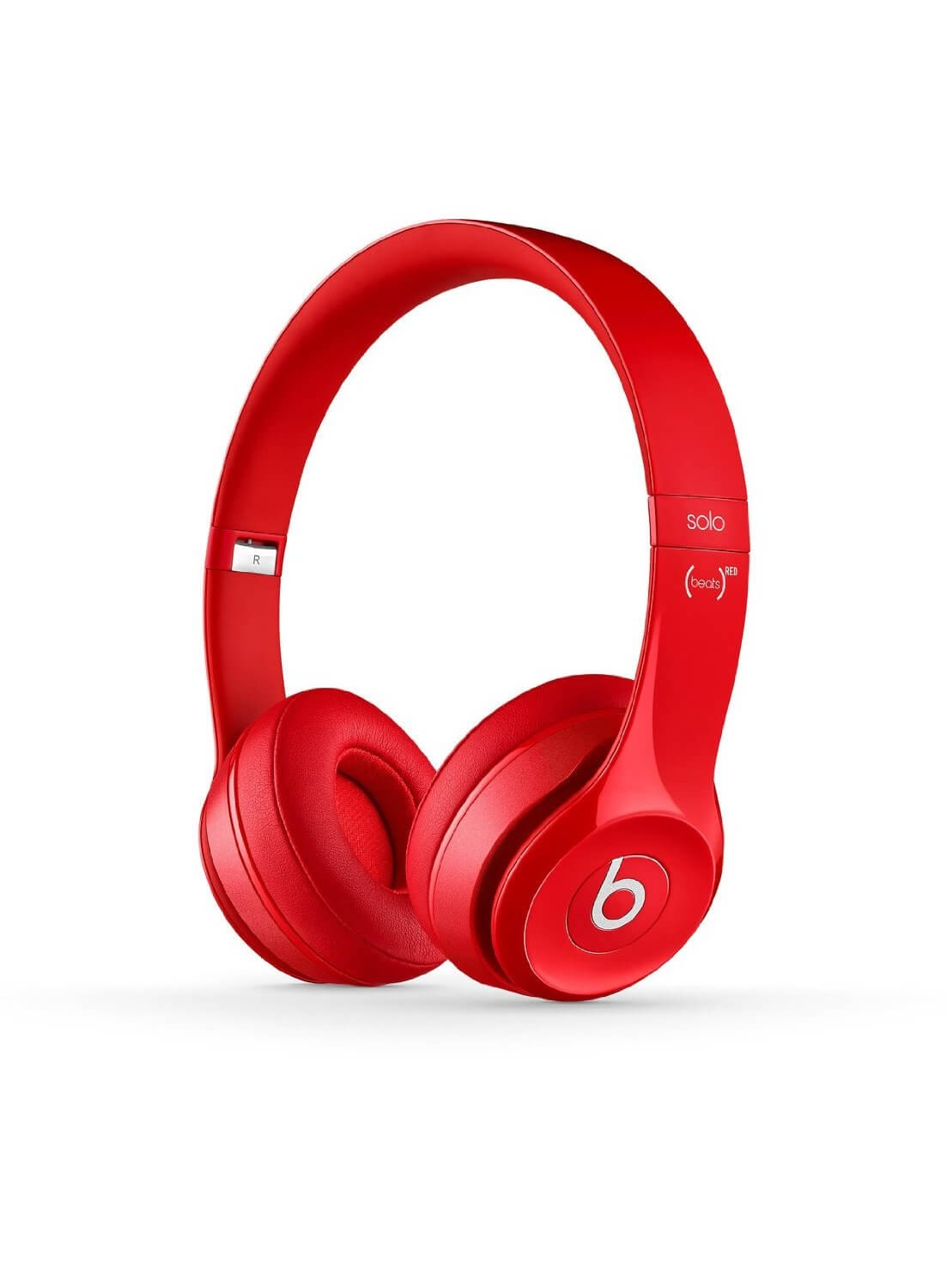 Apple Beats by Dr. Dre Solo 2 On-Ear Headphones - Red