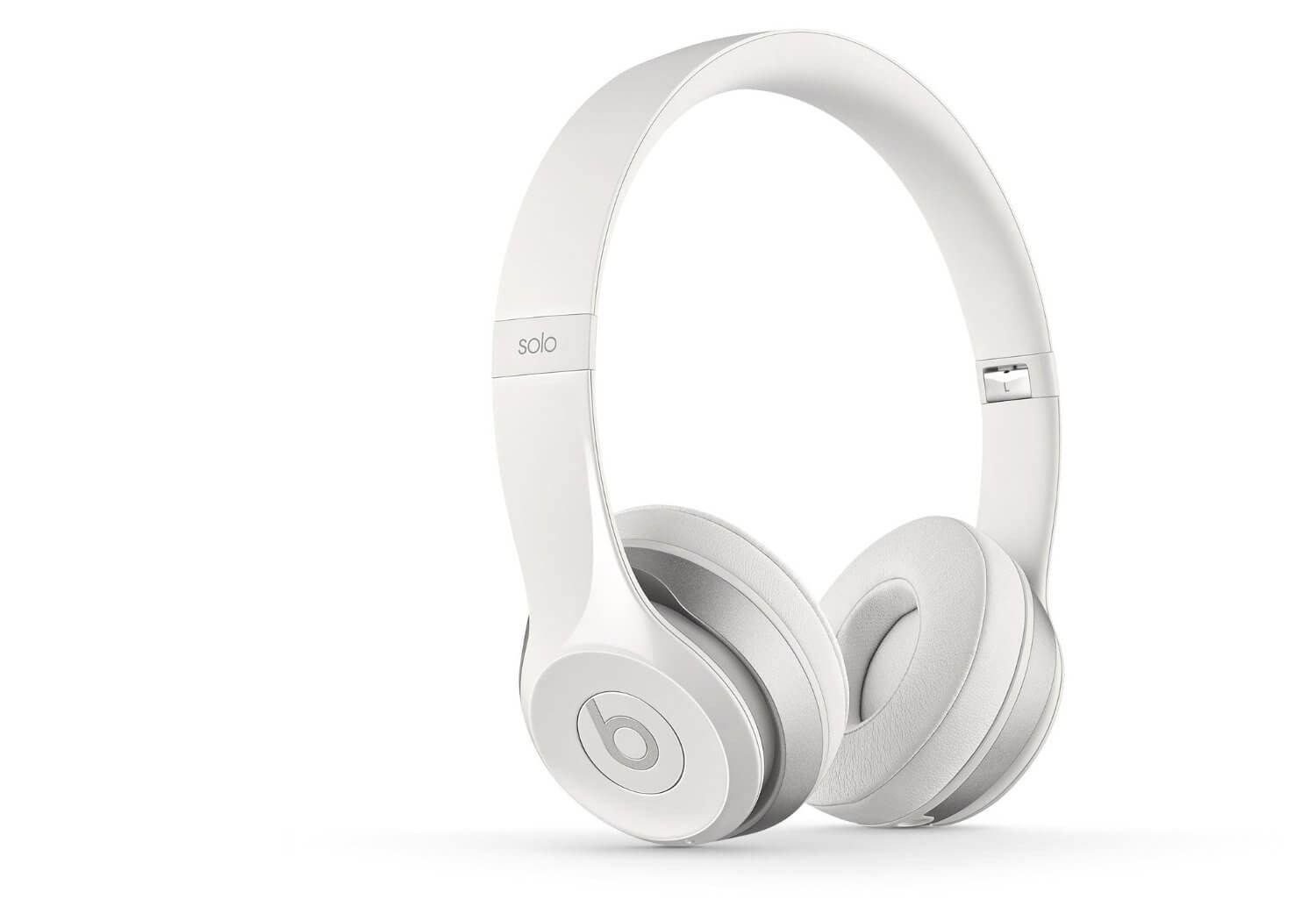 Apple Beats by Dr. Dre Solo 2 Wireless On Ear Headphones - White
