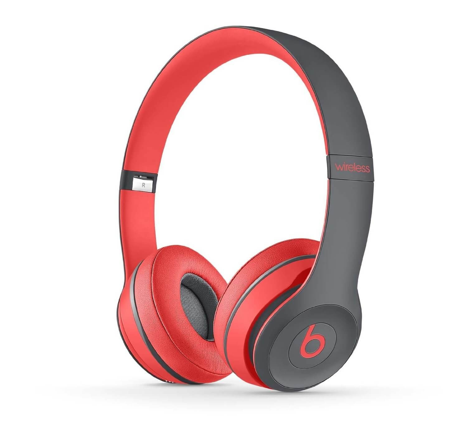 Apple Beats by Dr. Dre Solo 2 Wireless On-Ear Headphones, Active Collection - Siren Red