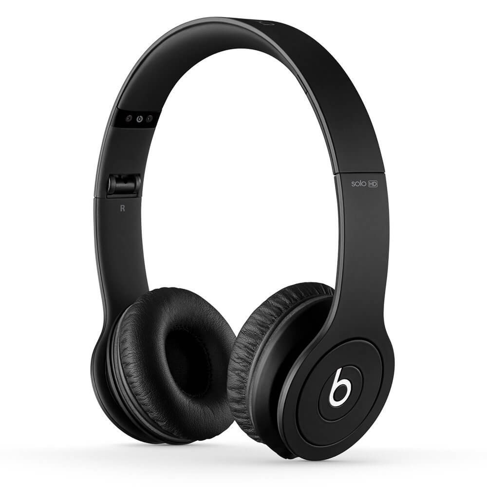 Apple Beats by Dr. Dre Solo HD On-Ear Headphone - Drenched in Black
