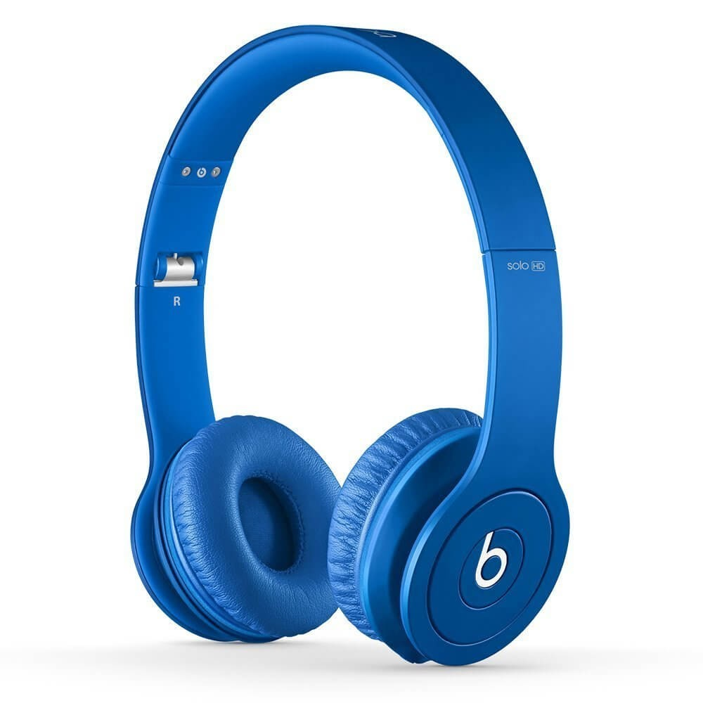Apple Beats by Dr. Dre Solo HD On-Ear Headphone - Drenched in Blue