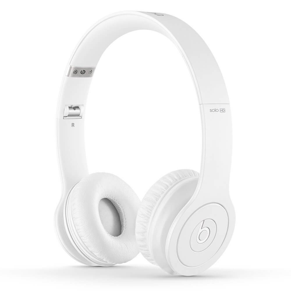 Apple Beats by Dr. Dre Solo HD On-Ear Headphone - Drenched in White