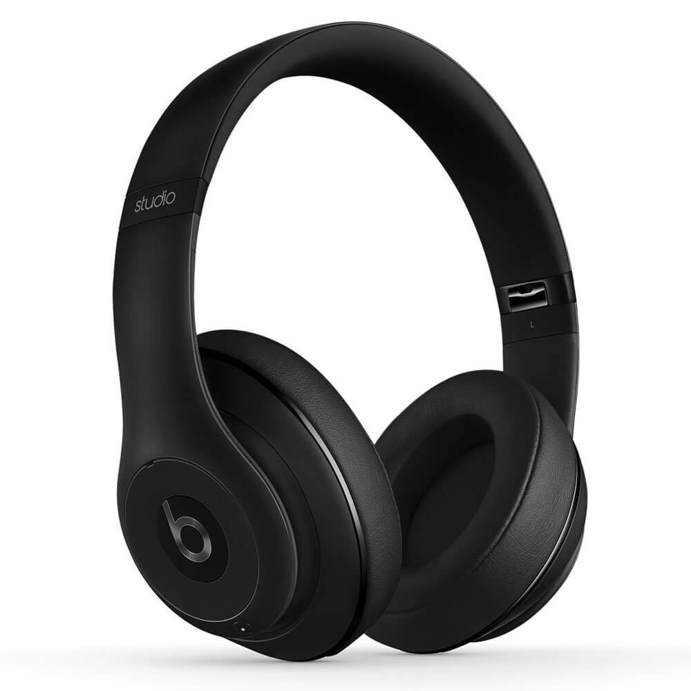 Apple Beats by Dr. Dre Studio 2 Wireless Over-Ear Headphones - Matte Black