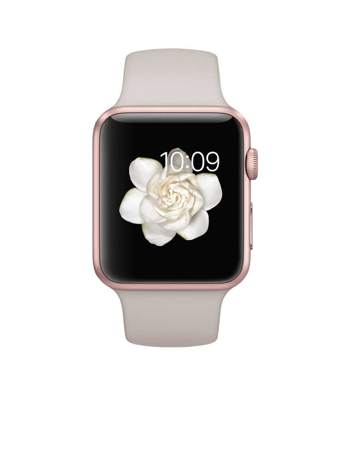 Apple Watch Sport 38mm Rose Gold Aluminum Case with Lavender Sport Band