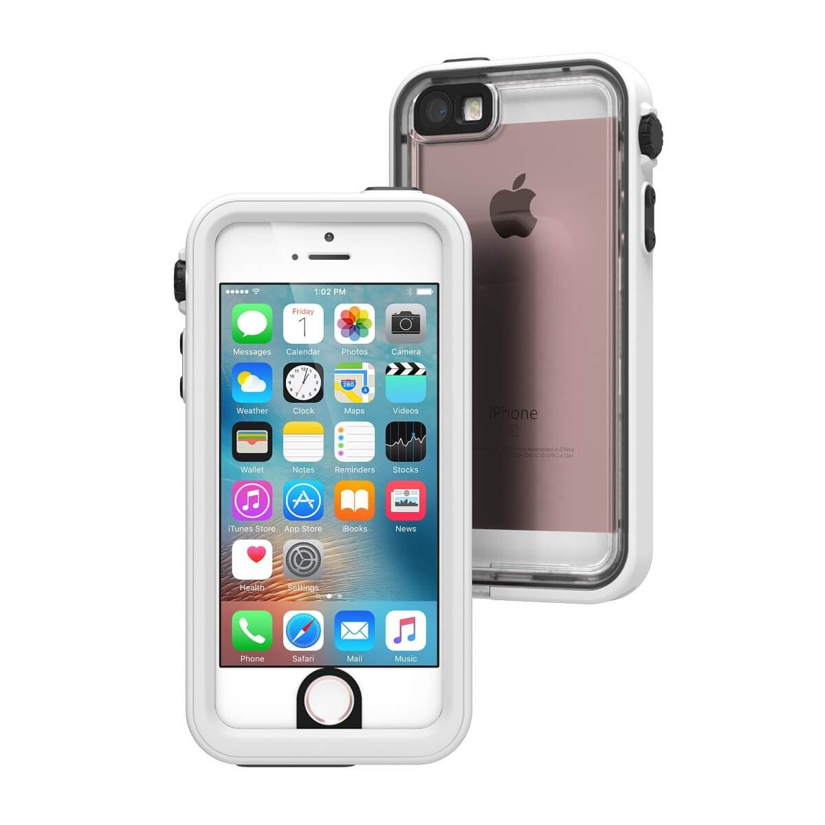 low priced e0e74 78e51 Catalyst Waterproof case for iPhone 5/5S/SE - Alpine White