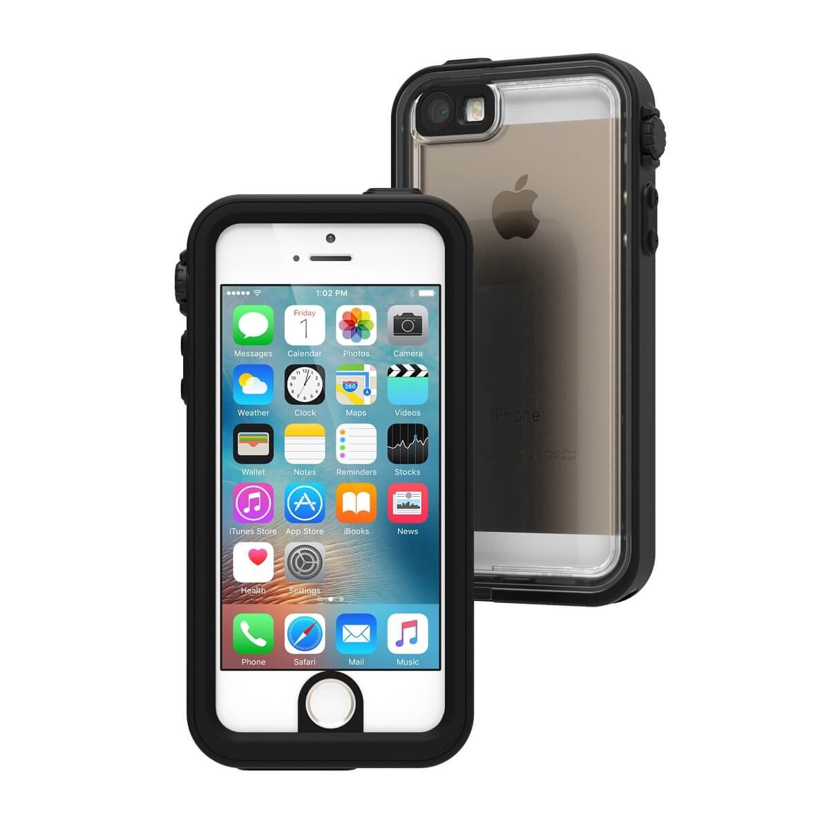 huge discount 83584 97390 Catalyst Waterproof case for iPhone 5/5S/SE - Stealth Black