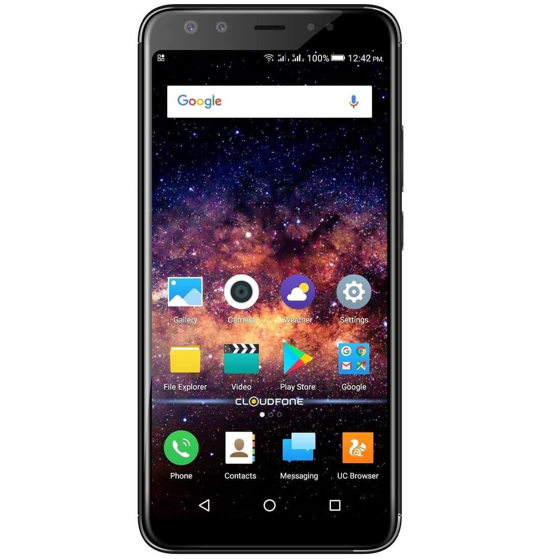 Cloudfone Next Infinity Quattro – Black