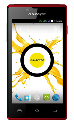 Cloudfone Excite 400G - Black