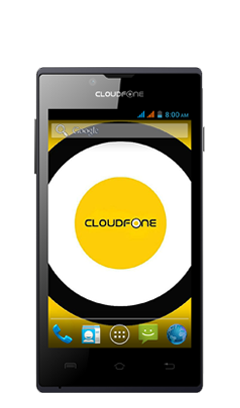 Cloudfone EXCITE 401DX - Red