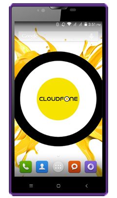 Cloudfone Excite 551Q - Black