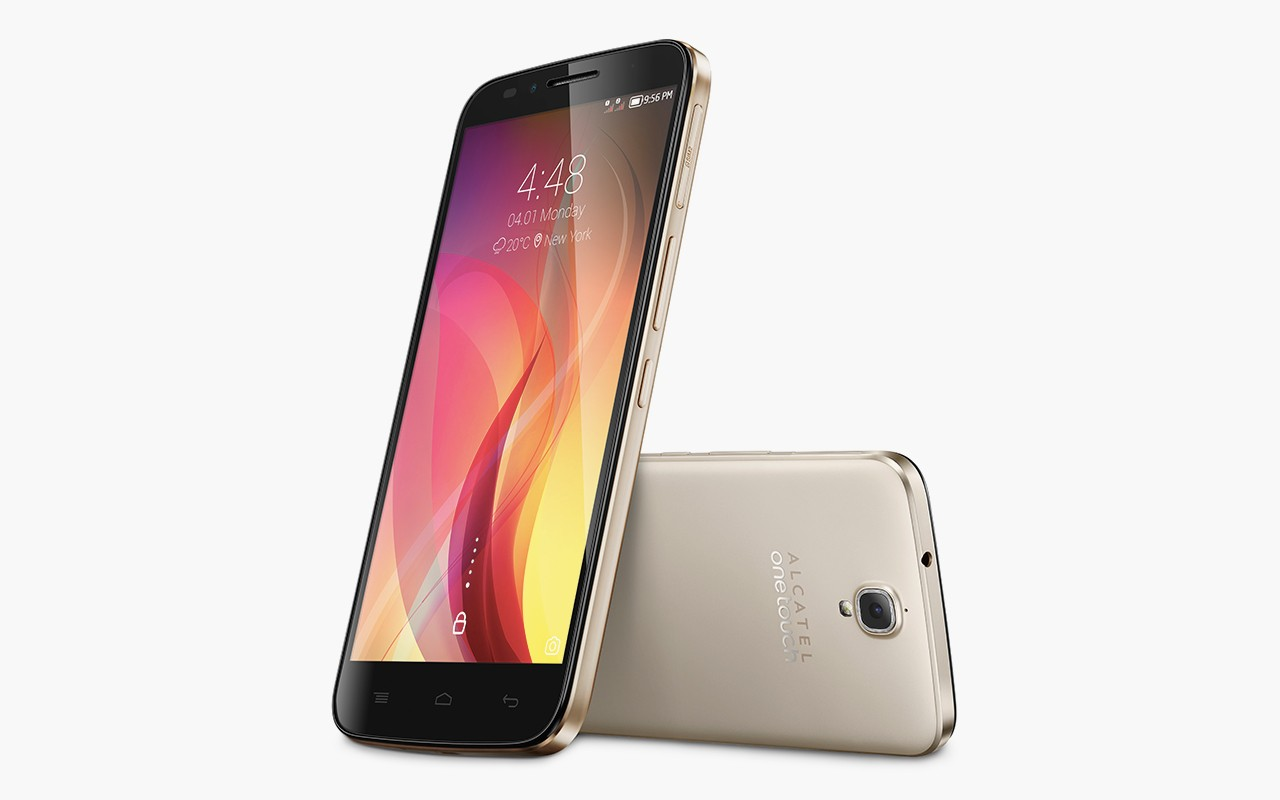 Alcatel Flash Plus - Glossy Gold