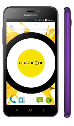 Cloudfone GEO 500Q - Purple