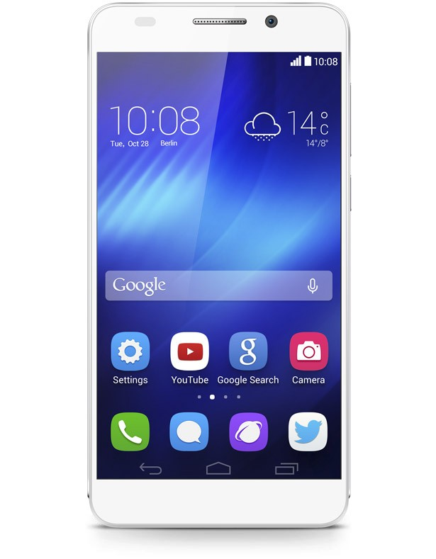 Huawei Honor 6 - LTE Single SIM - White