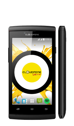 Cloudfone Ice - Black