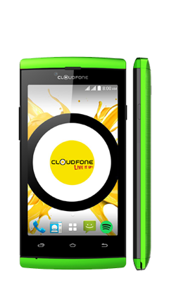 Cloudfone Ice - Green