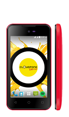 Cloudfone Ice PLUS - Red