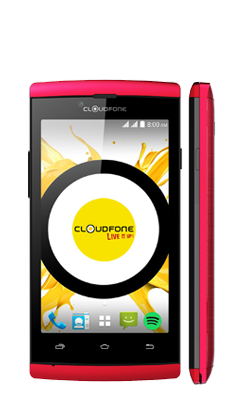 Cloudfone Ice - Red