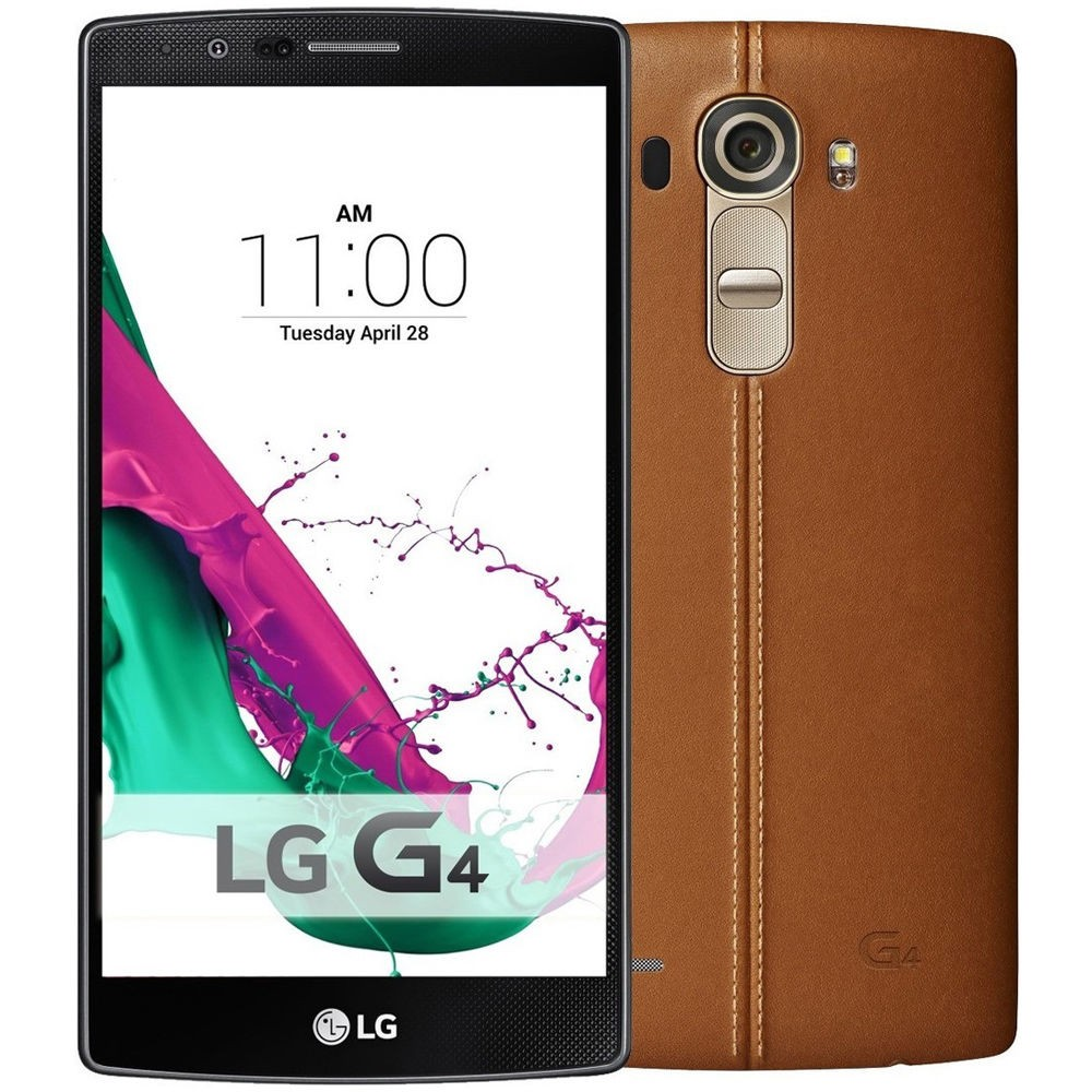 LG G4 - Genuine Leather - Brown