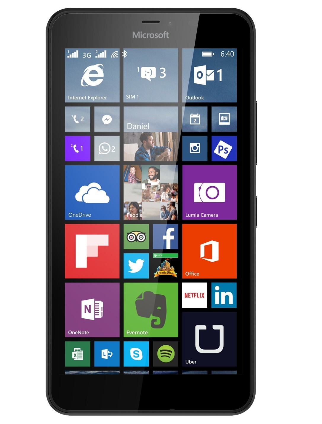 Microsoft Lumia 640 XL - Black