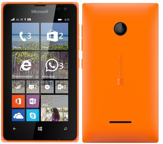 Microsoft Lumia 435 Dual SIM - Orange