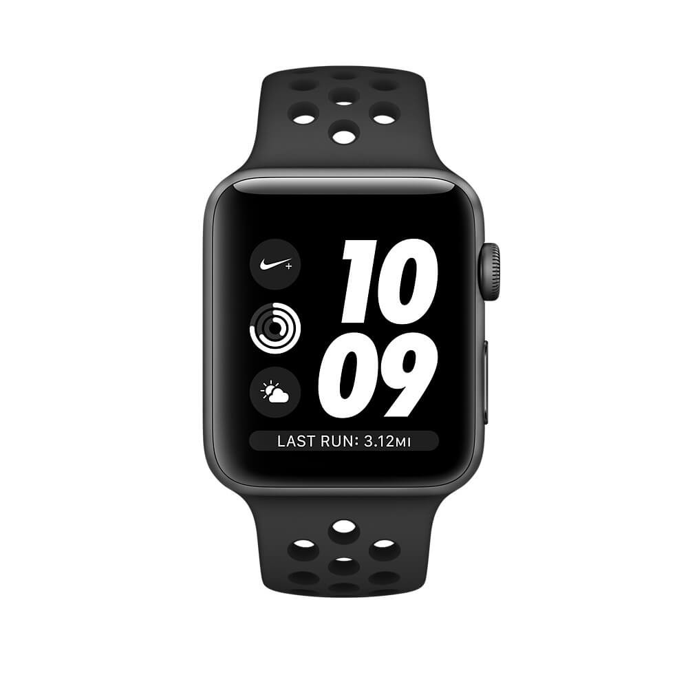 8ee8f0aa967d8 Apple Watch Nike+ GPS 38mm Space Gray Aluminium Case with Anthracite Black  Nike Sport Band