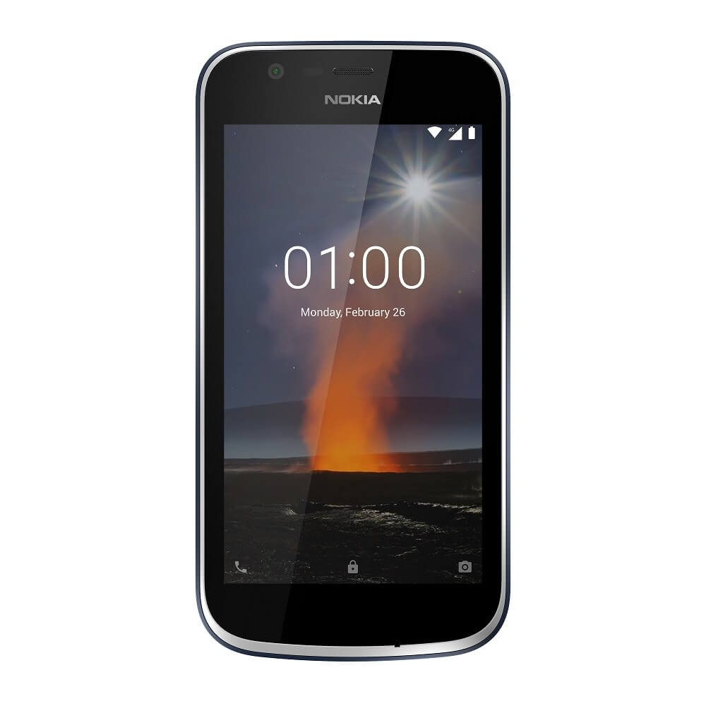 Image result for Nokia 1 - 8GB - 1GB RAM - Dual SIM - Dark Blue
