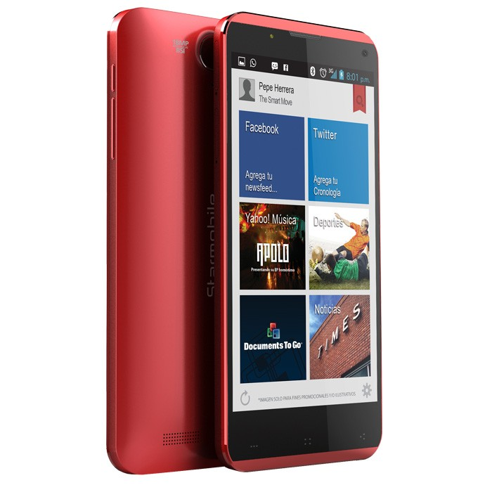 Starmobile Octa - Red