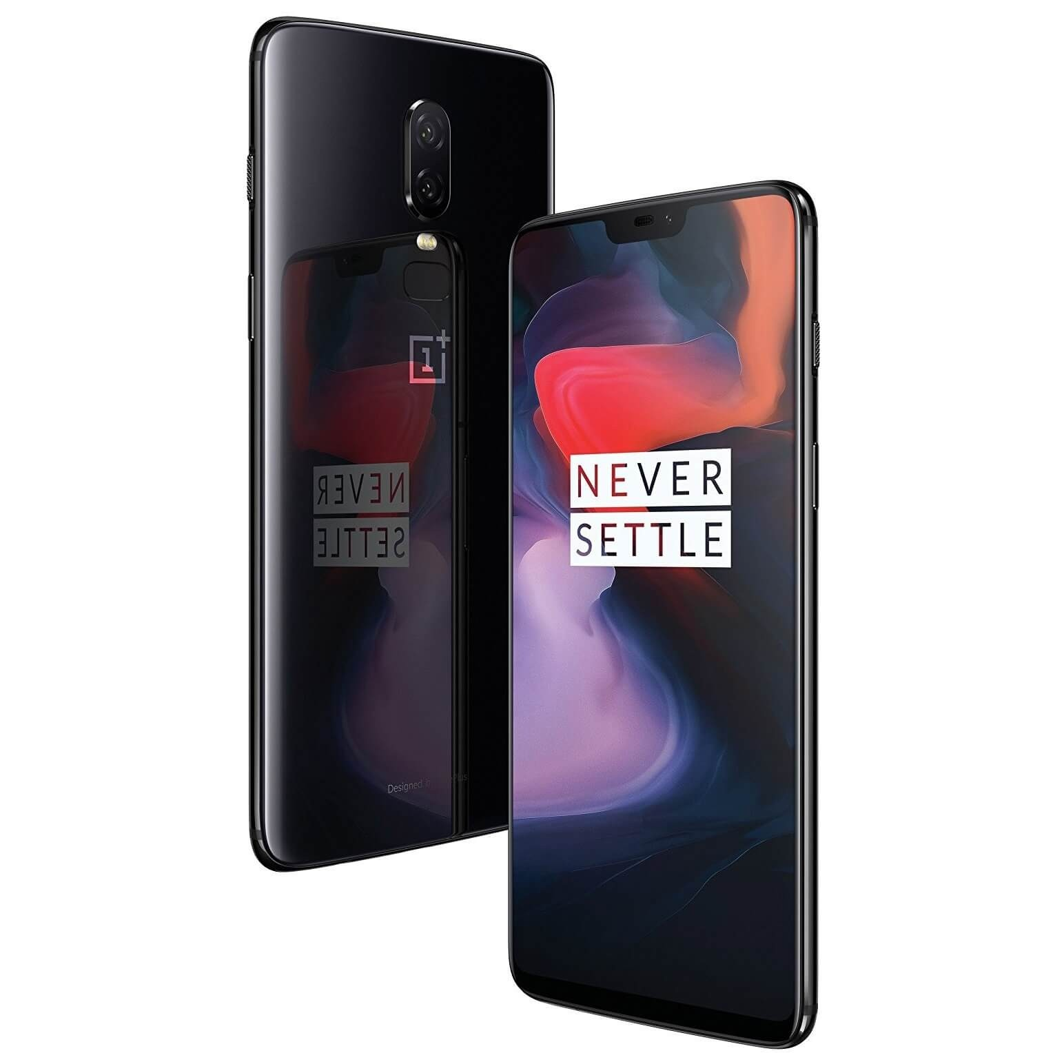 OnePlus 6 128GB - Mirror Black